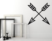 Arrow Wall Decal, Geometric Wall Decal, Arrow Nursery Decor, Southwestern Wall Decor, Arrow Dorm Decor, Modern Wall Decor, Triangle Decal