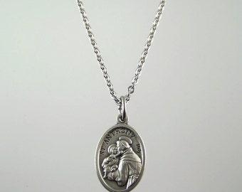 Saint Anthony Medal Necklace