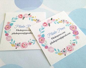 Custom Business Cards, Set of 48