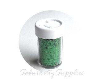 Emerald Green Glitter Shaker (3 - 11g bottles) ultra fine sparkling metallic powder supply scrapbooking Christmas