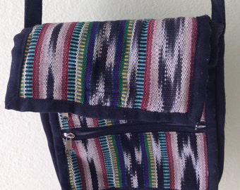 BOHO Vintage Mexican Embroidered bag with long strap