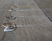 Crescent Tab Necklace