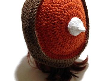 Pie Hat, Pumpkin Pie Hat, Thanksgiving Hat, Pumpkin Pie Beret, Foodie Gift, Pumpkin Pie, Food Cosplay, Kawaii Hat, Dessert Hat, Thanksgiving