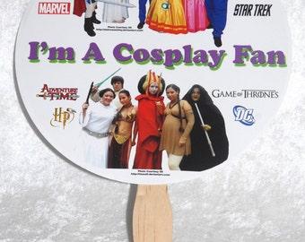 Cosplay Fan - Set of Two