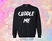 BAJUES- Unisex Black Cuddle Me Soft Sweatshirt