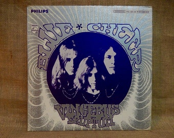 BLUE CHEER - Vincebus Eruptum - 1968 Vintage Vinyl Record Album...Original Pressing