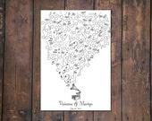 Thumbprint Musical Guestbook PDF