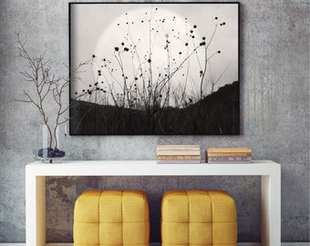 Large print, moon poster, giclee, archival print