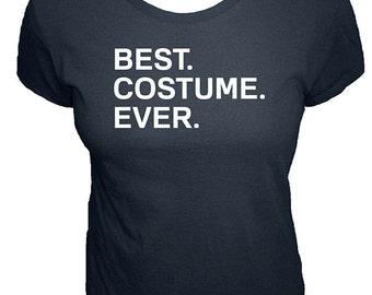 Womens Halloween Costume Shirt - Best. Costume. Ever. - Organic - Easy Costume - Womens Organic Bamboo & Cotton Shirt - Gift Friendly Simple