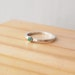Emerald Ring, Sterling Silver, May Birthstone Jewelry, Birthstone Ring