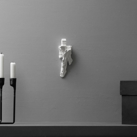 forest shelf with faroe islands architectural sculpture