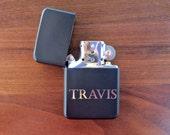 One Custom Lighter, Personalized Lighter, Wedding Gift, Groomsmen Gift