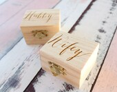 Wifey and Hubby Ring Box Set Rustic Wood Ring Box Set Rustic Chic Engraved Wedding Ring Boxes