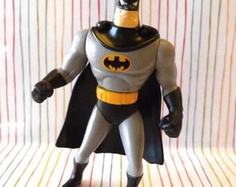 BATMAN, Yellow Removable Cape, Vintage McDonald's Happy Meal Toys, Batman Animated Series, 1991 to 1993, Batman Toys, In ORIGINAL BAG