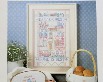 Cross Stitch Pattern Chart COUNTRY SAMPLER By Nancy Rossi For Dimensions