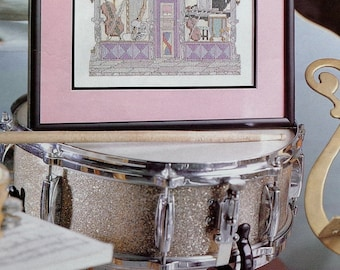 Counted Cross Stitch Pattern THE MUSIC ROOM - fam