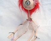 Gothic Hand Made Doll Weird Frankenstein Doll - What?