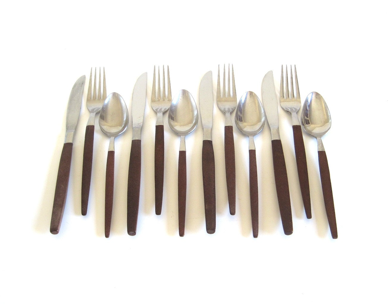 Danish modern stainless flatware service for 4 by lauraslastditch - Contemporary stainless flatware ...