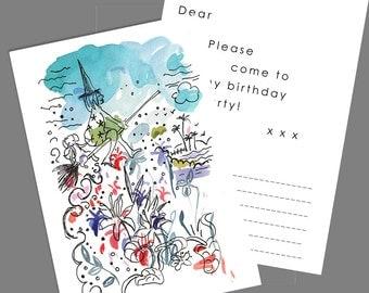 Printable invitation. Birthday Invitation Download. Kids party invitations. Kids invitation birthday party printables. Digital invitations