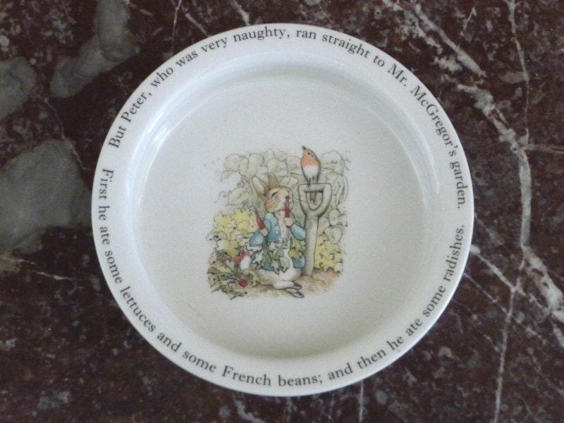 Wedgwood Baby Gifts Uk : Wedgwood beatrix potter peter rabbit china bowl