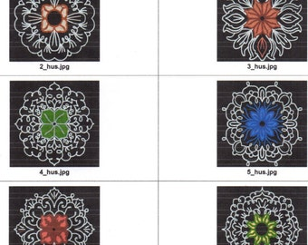 10 lace rounds machine embroidery designs. Formats are pes,jef,dst,hus,vp3