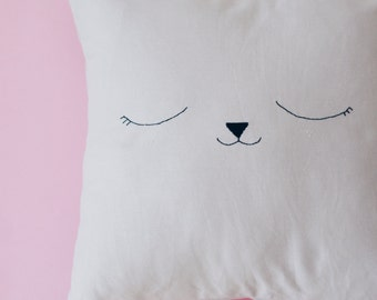 Pillow cover grey