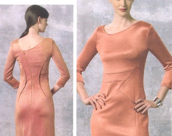 Ralph Rucci dress pattern -- Vogue American Designer 1458