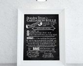Recipe Chalkboard Print | Custom Recipe Chalkboard Print | Great Wedding Gift | Housewarming