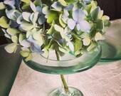 Reclaimed Glass Bud Vase