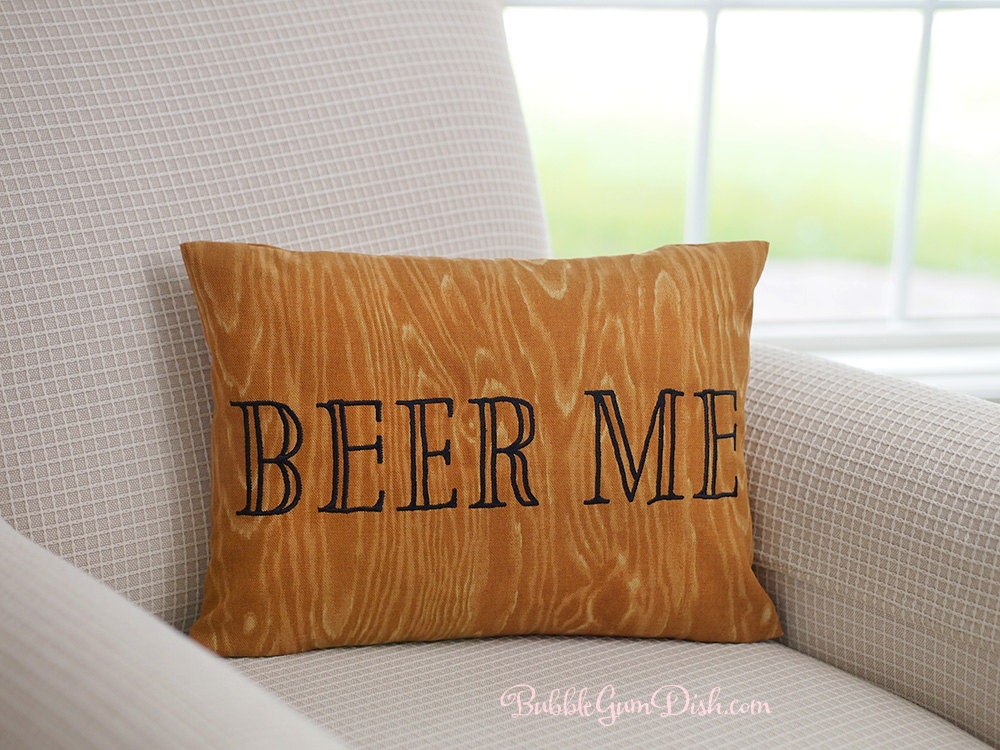 Man Cave Gifts Australia : Man cave gifts beer me pillow