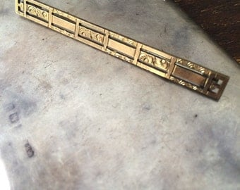 Vintage Gold Not Gold Straight Pin