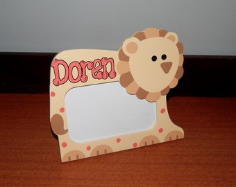 Personalized Owl Picture Frame