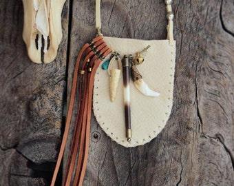 SPIRITUAL SOUND, Leather Medicine Pouch