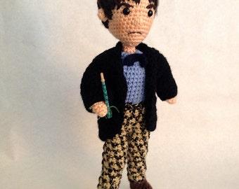 Second Doctor Who Amigurumi Crochet doll  Pattern