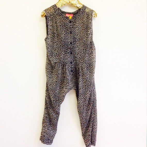 SWEETIE 3-4 Years Baby Chiffon Suit Childrens Onesie Jumpsuit One Piece Jumper Romper Playsuit Upcycled Unisex MH