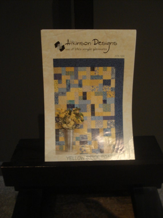 Yellow Brick Road Quilt Pattern And Instructions
