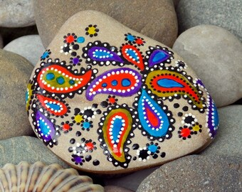 Band of gypsies / painted rocks / painted stones / hand painted rocks / sea stones / rock art / sandi pike foundas / love from cape cod