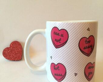 Sassy Hearts, Run Free Mug
