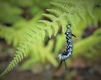 Monarch Caterpillar Pendant