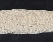 """White Freshwater Pearl 2mm Seed Beads - 16"""" Strand"""