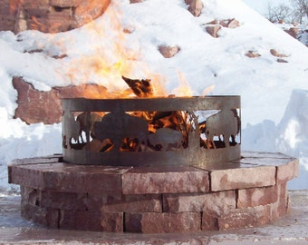 Steel Fire Pit - Customizable