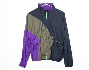 80s Men's Sporty Coat (Med.)