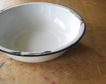 Primitive Graniteware Bowl