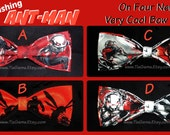 BowTies Made From Marvel Comics Ant-Man Fabric - Take Your Pick From 4 Astonishing HAND-Sewn Bow Ties - U.S.SHIPPlNG 1.49