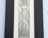 Pewter Thistle Picture