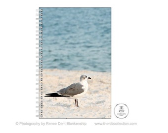 Seagull Journal - Beach Notebook