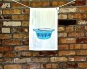 Saxony Tea Towel, Vintage Pyrex, Tree of Life Pattern