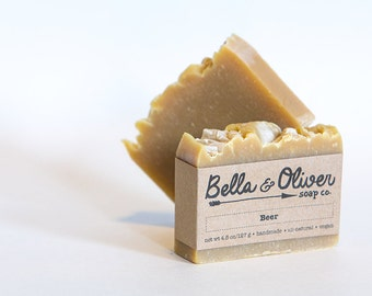 All-Natural Beer Soap