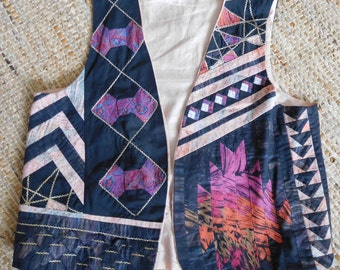 Awesome Patchwork Waistcoat