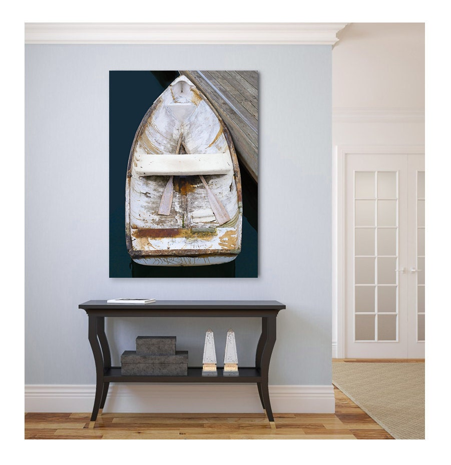 Boat Canvas Print Nautical Wall Decor Large Wall Art
